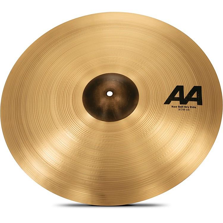 SabianAA Raw Bell Dry Ride Cymbal21 in.