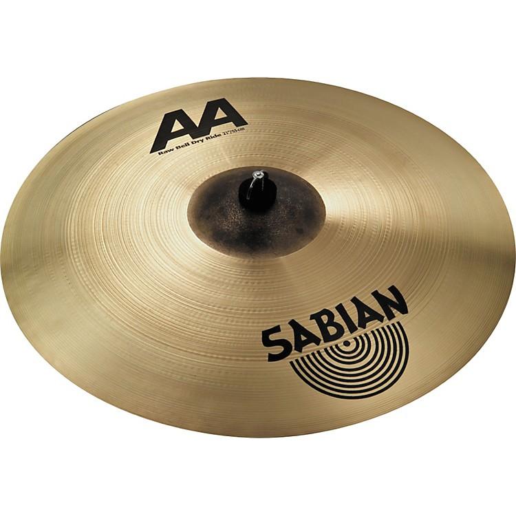 SabianAA Raw Bell Dry Ride Cymbal