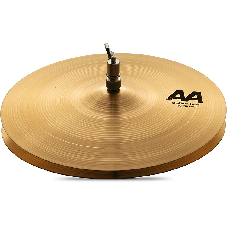 Sabian AA Regular Hi-Hats  Medium 14 in.