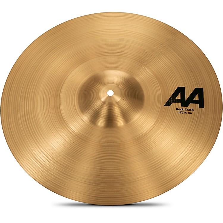 SabianAA Rock Crash Cymbal18 in.