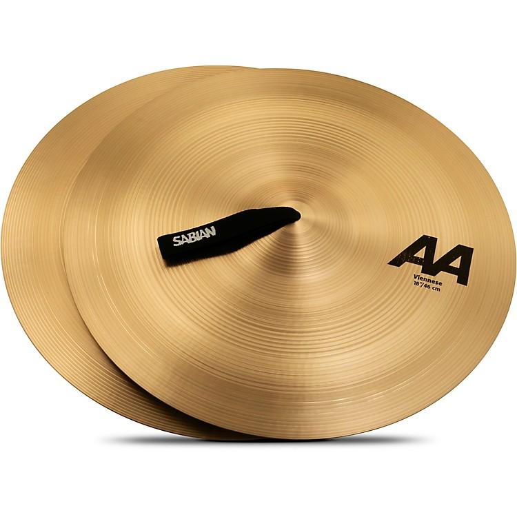 SabianAA Viennese Cymbals18 in.