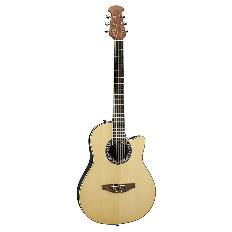 Applause AA13 Minibowl Cutaway Acoustic Guitar Natural