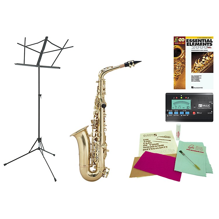 AlloraAAAS-301 Beginner Student Alto Saxophone Bundle