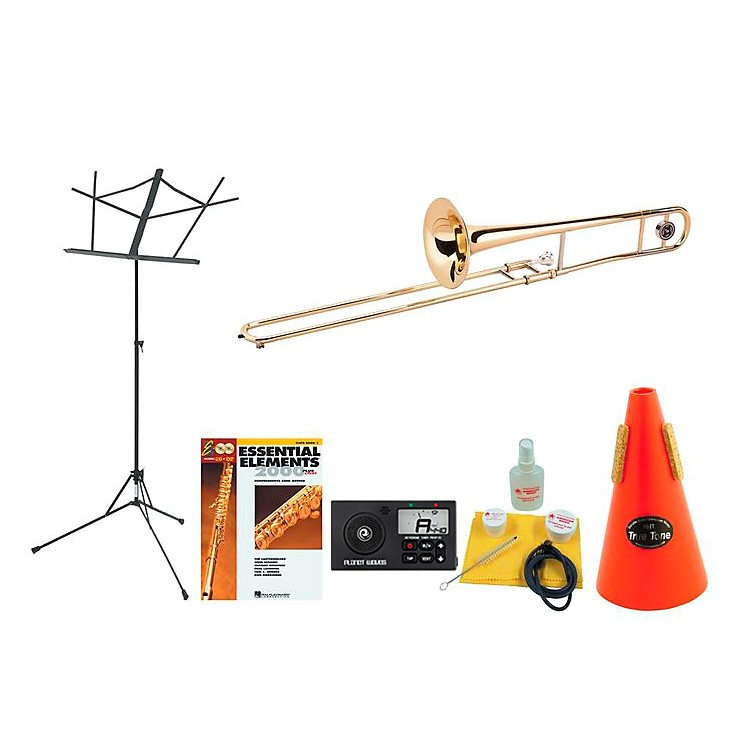 Allora AATB-102 Beginner Student Trombone Bundle