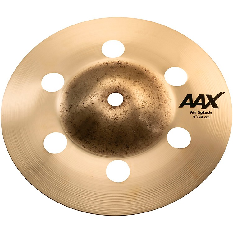 Sabian AAX Air Splash Cymbal Brilliant