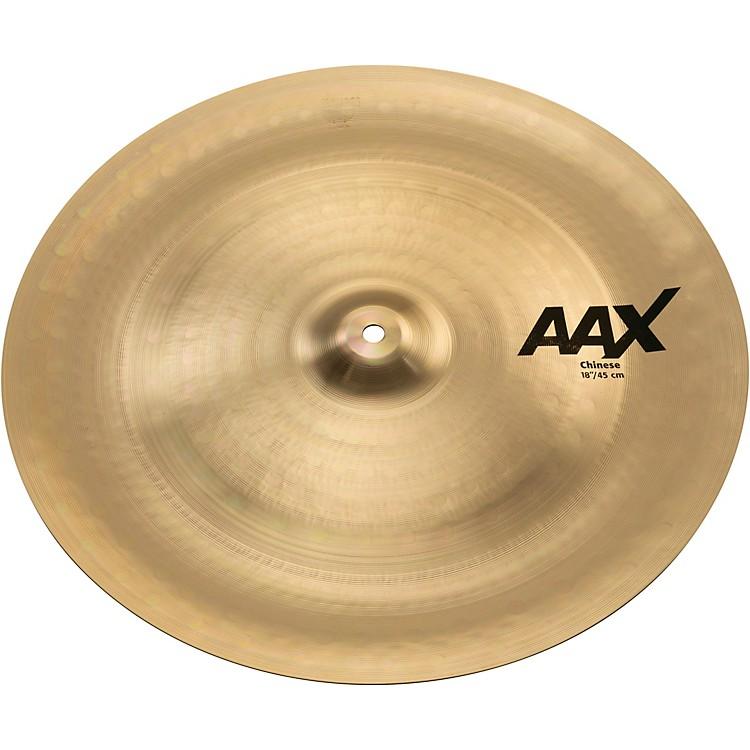 SabianAAX Chinese Cymbal Brilliant18