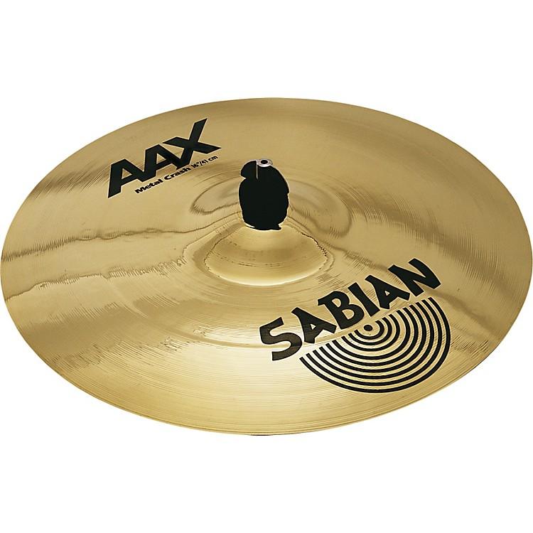 SabianAAX Metal Crash Cymbal Brilliant18