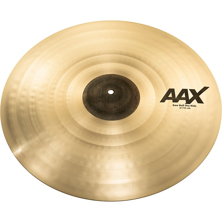 Sabian AAX Raw Bell Dry Ride Cymbal 21 in.