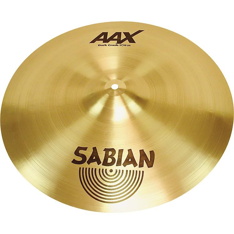 SabianAAX Series Dark Crash Cymbal
