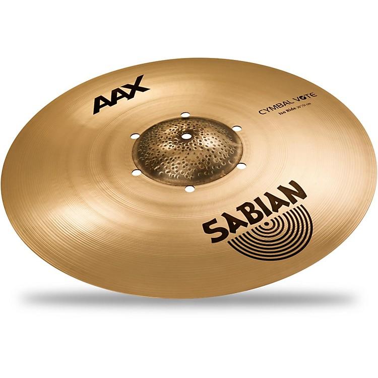 SabianAAX Series Iso Ride Cymbal Brilliant20 in.