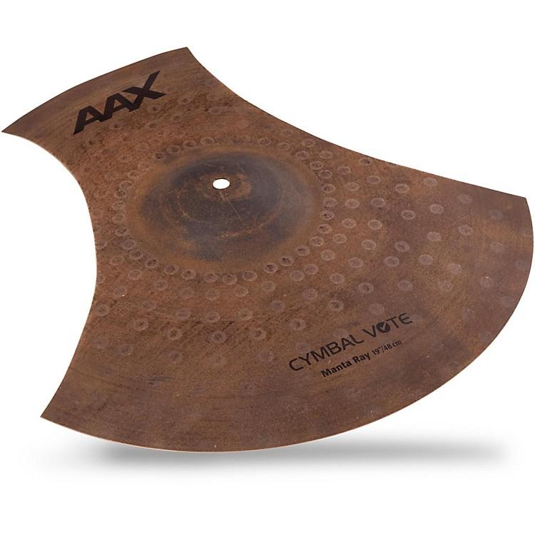 SabianAAX Series Manta Ray Cymbal19 in.