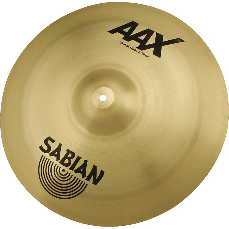 Sabian AAX Series Metal Ride Cymbal  22 in.