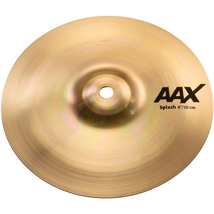 SabianAAX Splash CymbalBrilliant8 in.