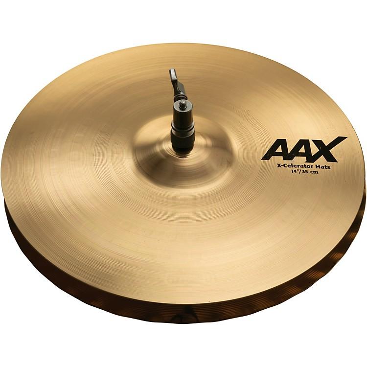 SabianAAX X-celerator Hi-Hat Cymbals Brilliant14 in.