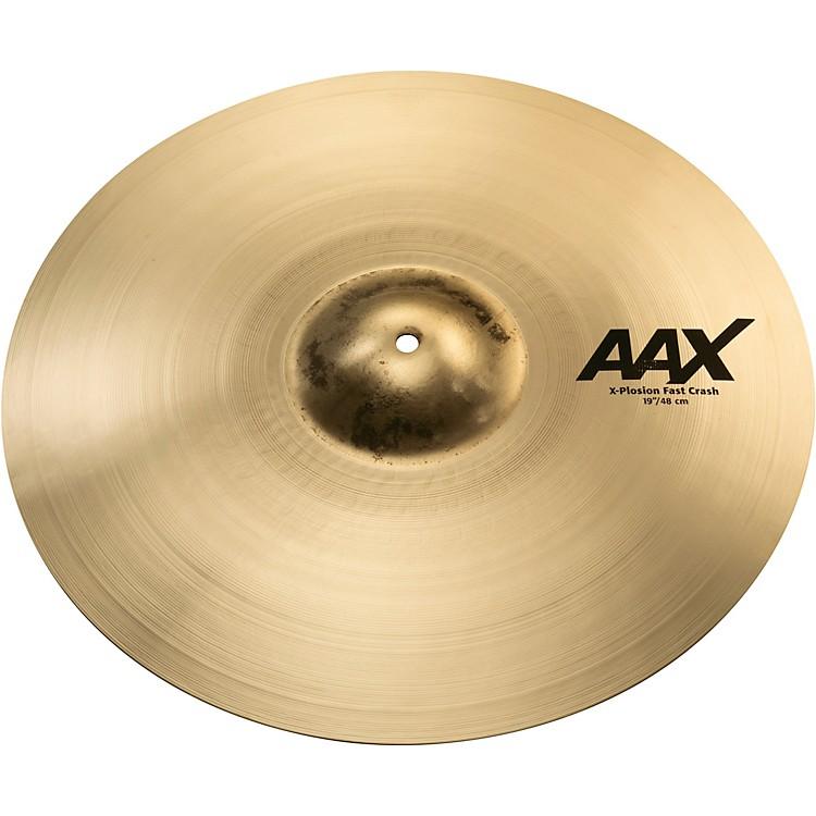 SabianAAX X-plosion Fast Crash Cymbal19in