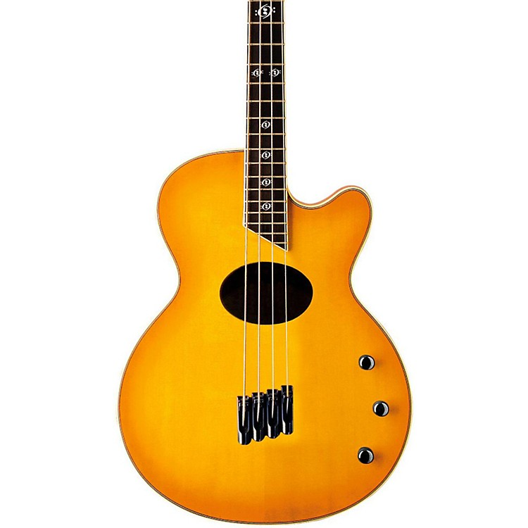 Washburn AB40SH Stu Hamm Acoustic-Electric Bass Natural