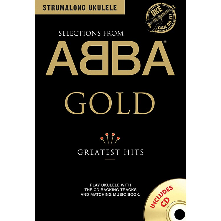 Music SalesABBA Gold - Greatest Hits from Strum Along Ukulele Series Book/CD