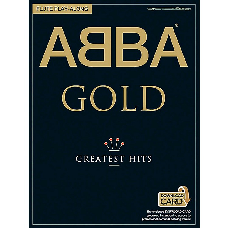 Music SalesABBA Gold Greatest Hits Flute Play-Along (Book/Online Audio)