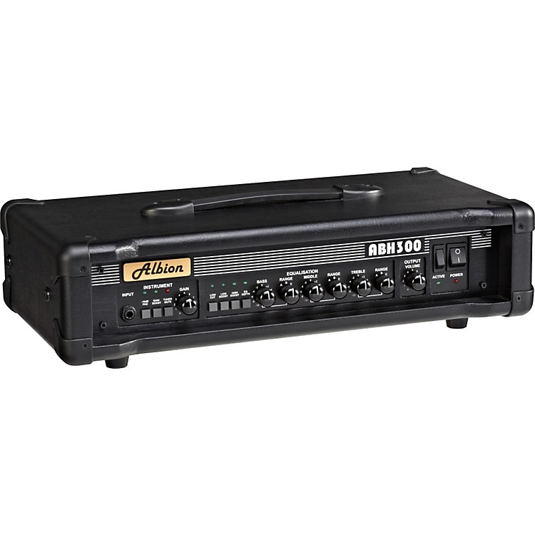 Albion AmplificationABH Series ABH300H 300W Tube Bass Amp Head