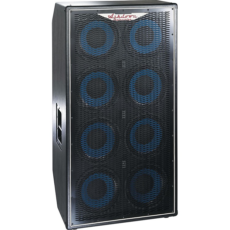 Ashdown ABM 810 8x10 Bass Speaker Cabinet 1200W Black 4 Ohm