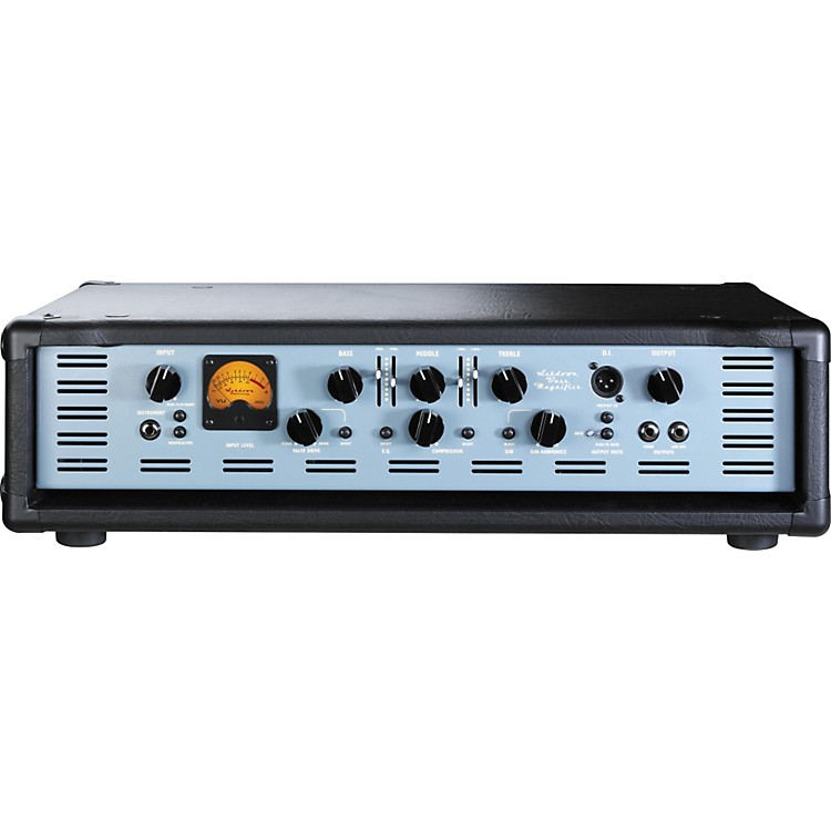 Ashdown ABM 900 EVO III 575+575W Dual Power Stage Bass Amp Head Black, Blue
