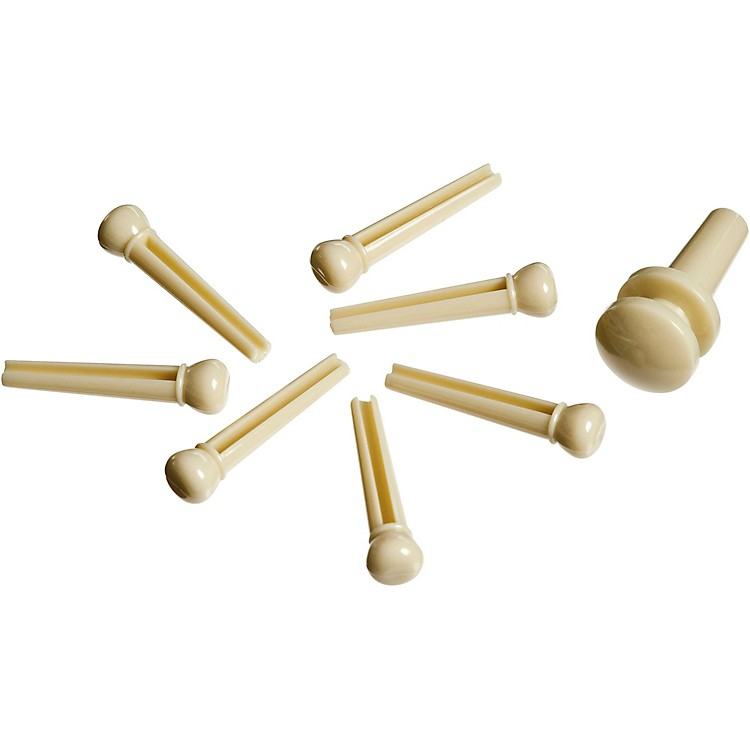 D'Addario Planet Waves ABS Bridge/End Pin Set Ivory