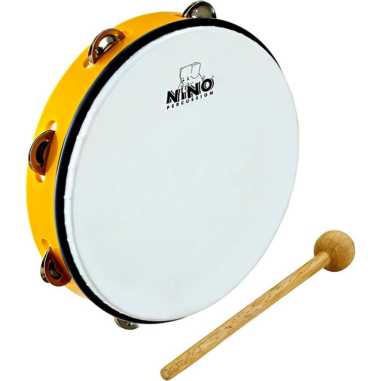 Nino ABS Tambourine Yellow 10