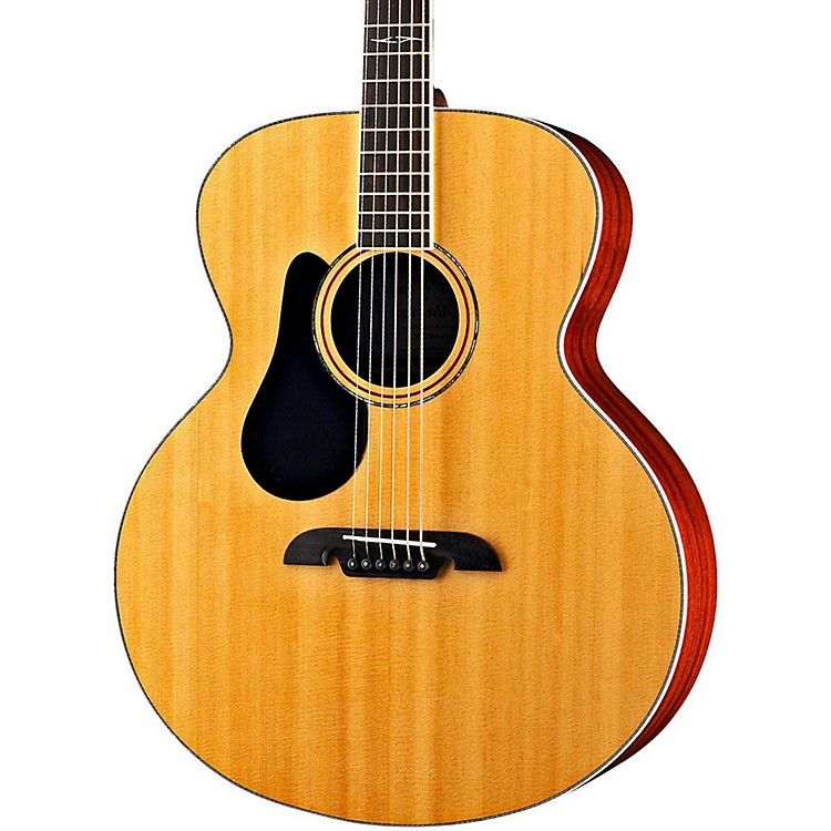 Alvarez ABT60L Baritone Left Handed Acoustic Guitar Natural