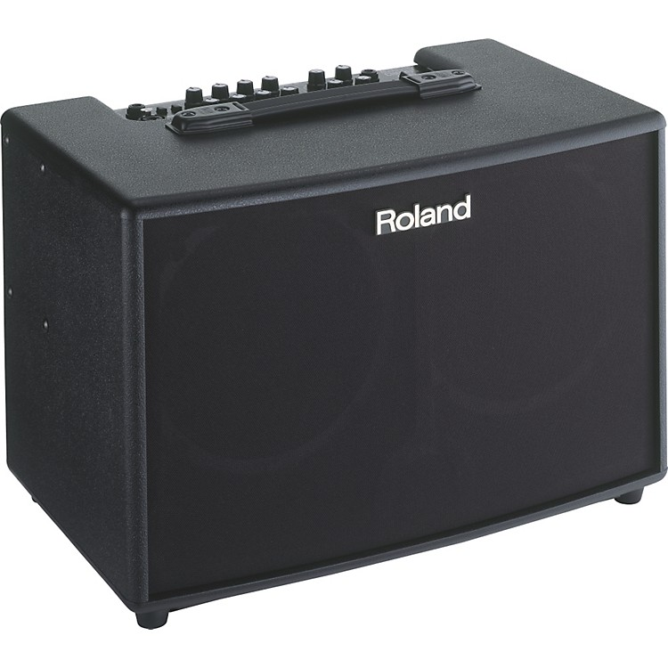 Roland AC-90 90W 2x8 Stereo Acoustic Chorus Guitar Combo Amp Black