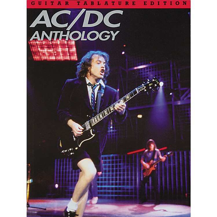 Music SalesAC/DC Anthology Guitar Tab Songbook