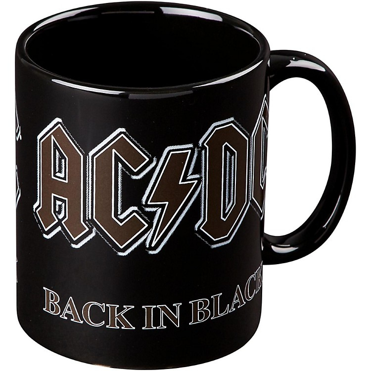 ROCK OFFAC/DC Back In Black Mug