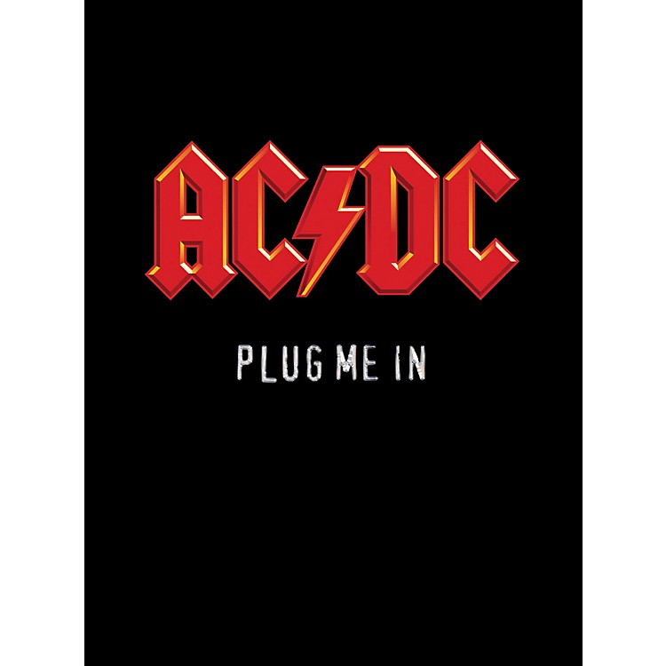 Music Sales AC/DC Plug Me In Live Concert (Guitar Tab Book)