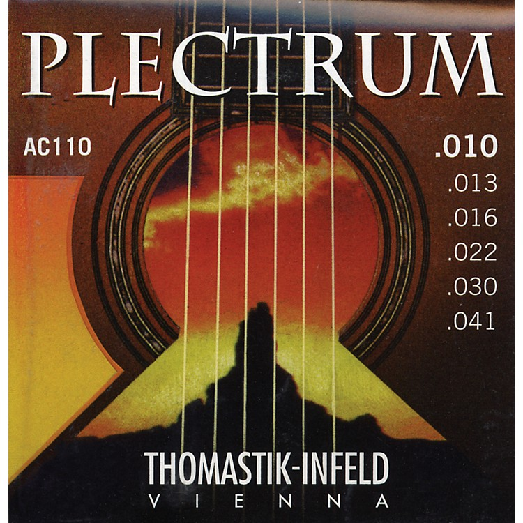 Thomastik AC110 Plectrum Bronze Extra Light Acoustic Guitar Strings