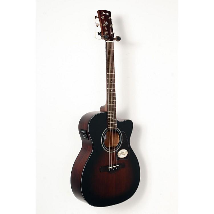 IbanezAC400CEDVS Artwood Solid Top Grand Concert Acoustic-Electric GuitarDark Violin Sunburst888365835952