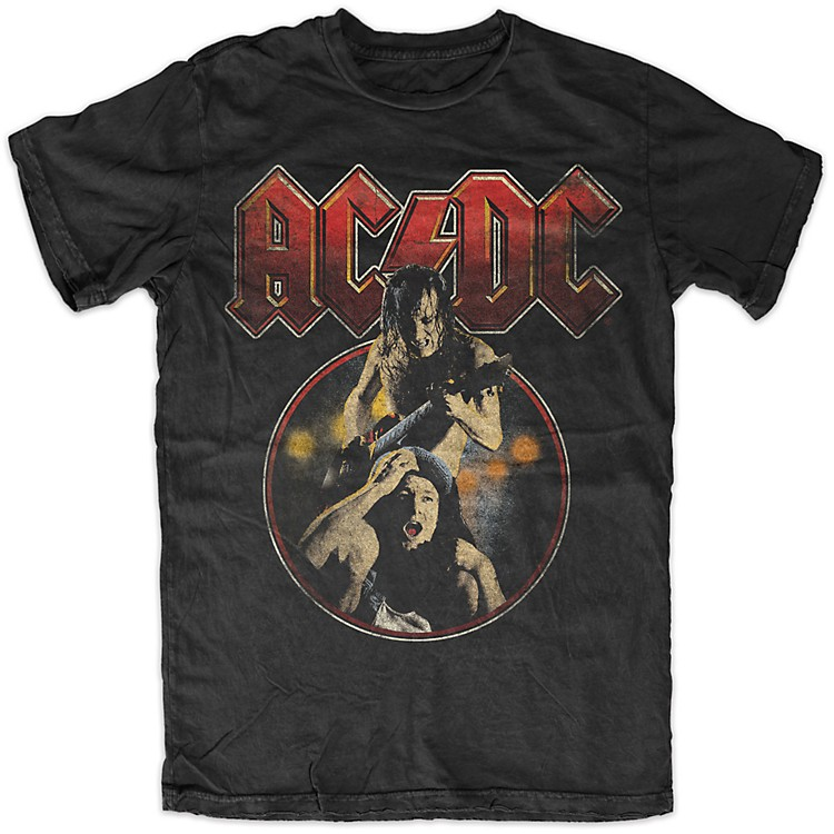 FEA Merchandising ACDC - Angus Piggy Back T-Shirt