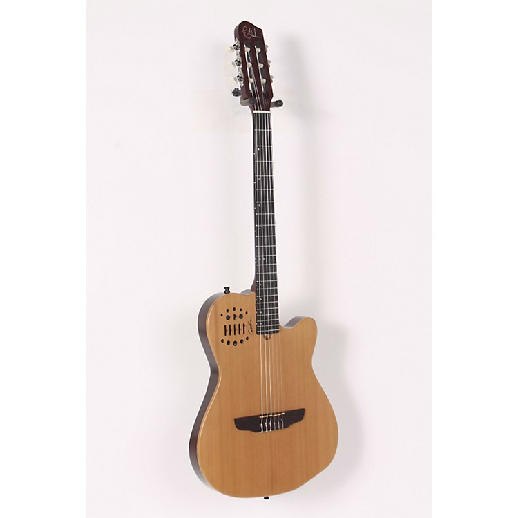 Godin ACS-SA Nylon String Cedar Top Acoustic-Electric Guitar Semi-Gloss Natural 886830620331