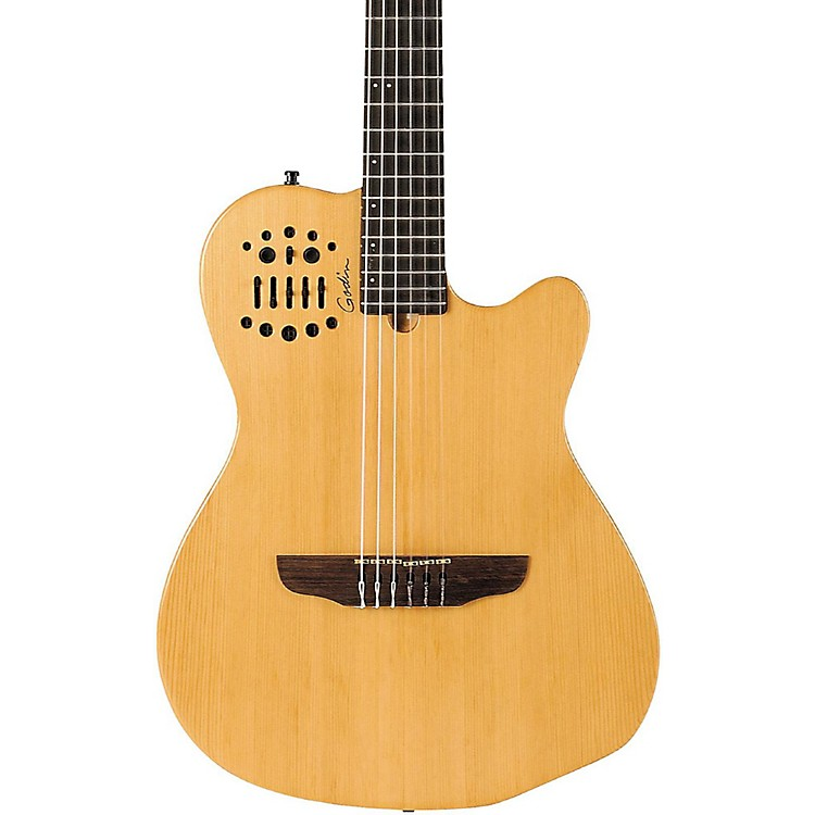 GodinACS-SA Nylon String Cedar Top Acoustic-Electric GuitarNatural Semi-Gloss