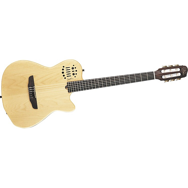 GodinACS-SA Nylon String Slim Neck Acoustic-Electric Guitar with Synth Access