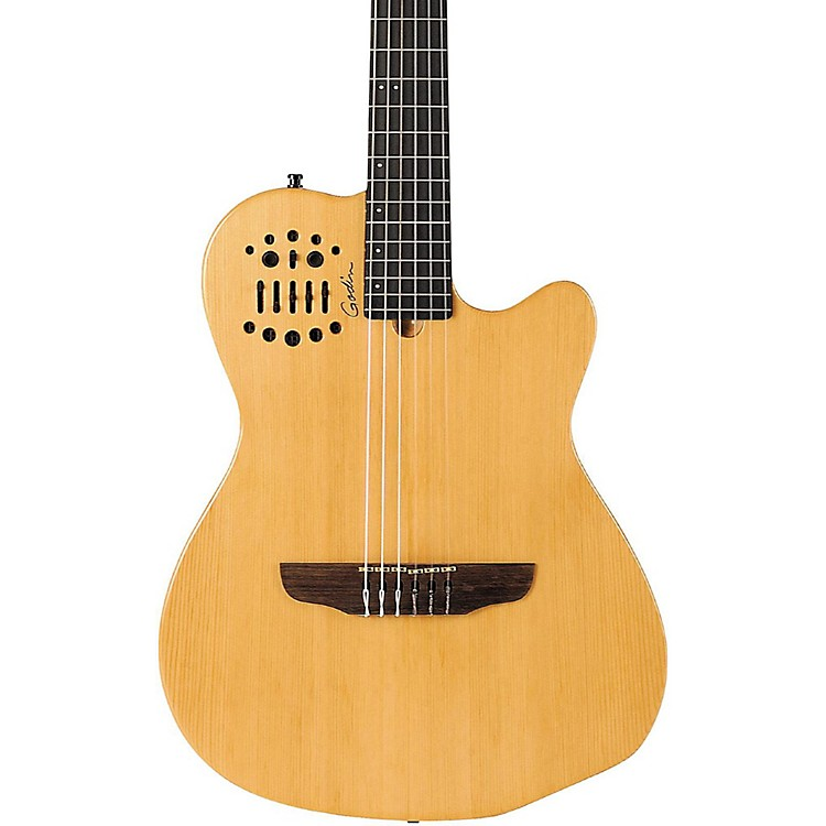 Godin ACS-SA Slim Nylon String Cedar Top Acoustic-Electric Guitar Natural Semi-Gloss