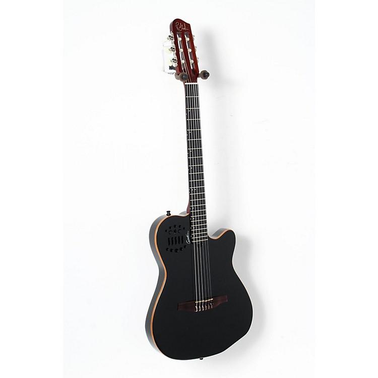 GodinACS-SA Slim Nylon String Cedar Top Acoustic-Electric GuitarBlack Pearl888365900025
