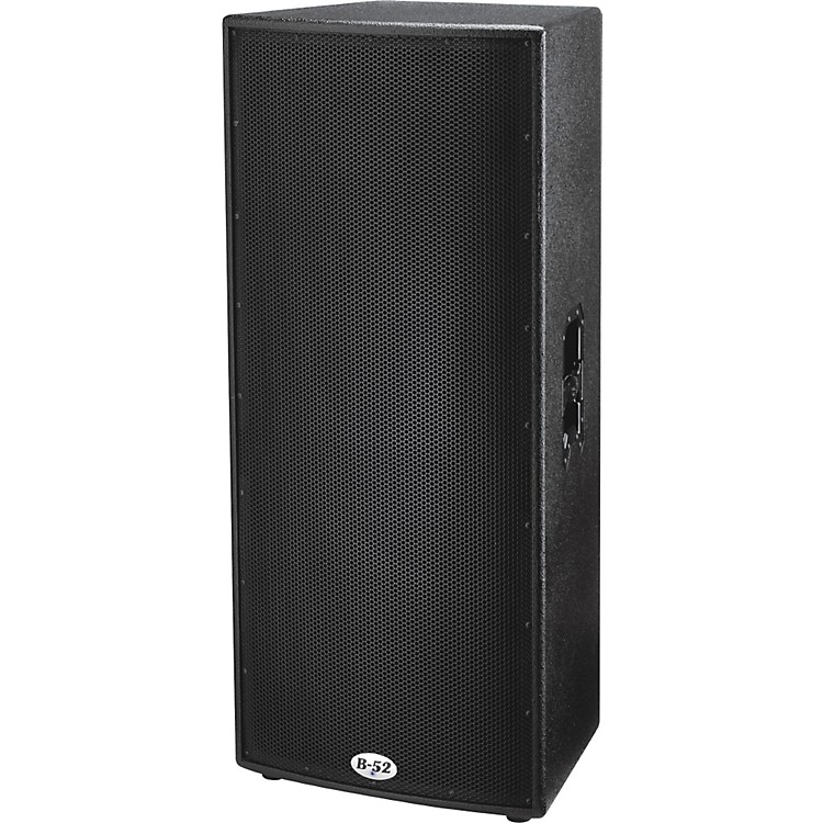 B-52 ACT-1515X Active Dual 15 Inch Two Way 1000 Watts Speaker