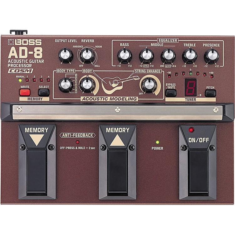 BossAD-8 Acoustic Guitar Multi Effects Pedal