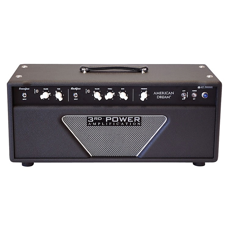 3rd Power Amps AD-AMP American Dream 38/18 Watt Guitar Head Black