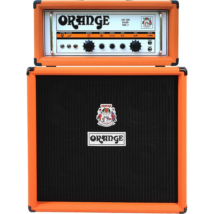 Orange Amplifiers AD Series AD200B 200W Tube Bass Amp Head Orange
