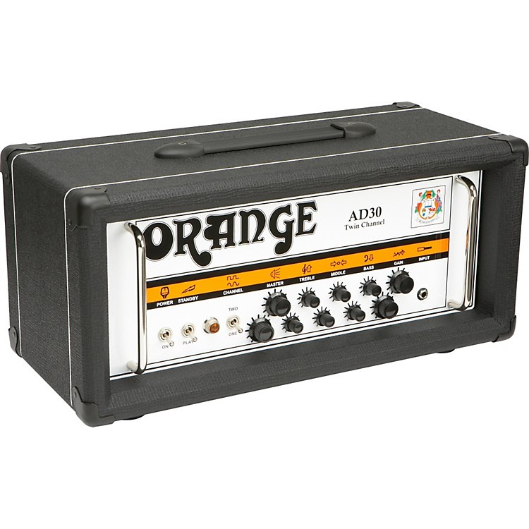 Orange Amplifiers AD Series AD30HTC 30W Tube Guitar Amp Head Black