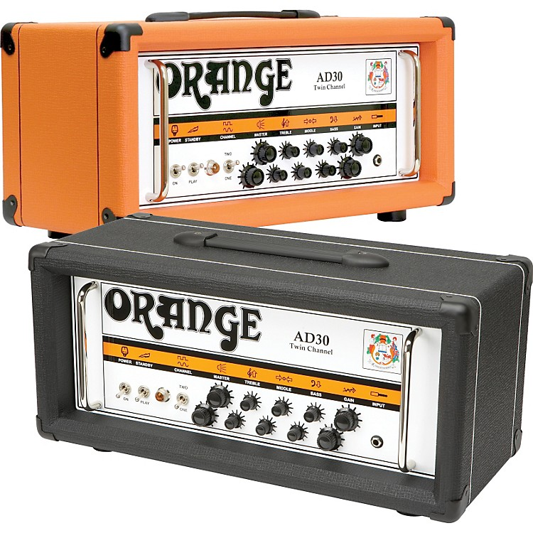 Orange Amplifiers AD Series AD30HTC 30W Tube Guitar Amp Head Orange
