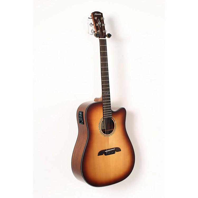 Alvarez AD610CESHB Dreadnought Acoustic-Electric Guitar Shadow Burst 888365906713