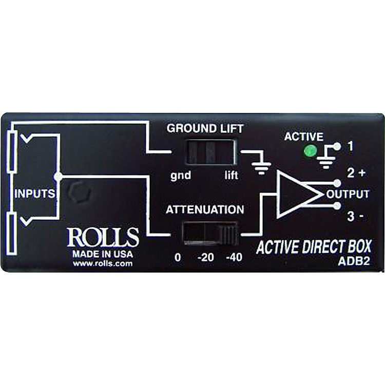 Rolls ADB2 Phantom Direct Box