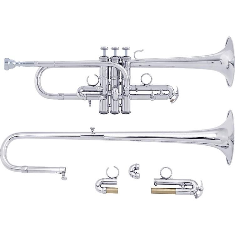BachADE190 Stradivarius Artisan Series Eb/D TrumpetADE190S Silver