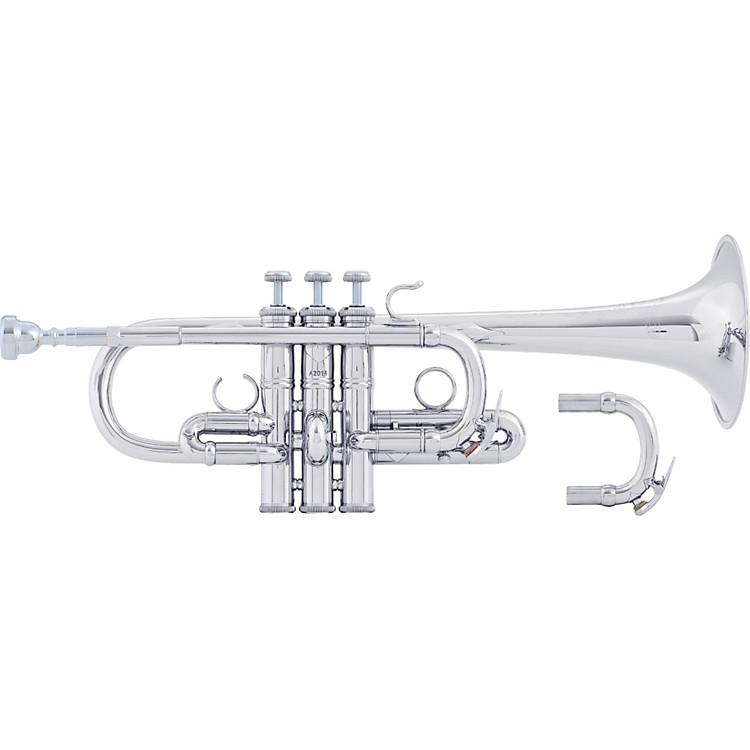 BachAE190 Stradivarius Artisan Series Eb TrumpetAE190S Silver